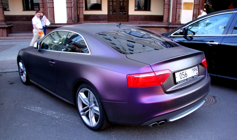 Audi S5 Fioletowy Mat 1 131