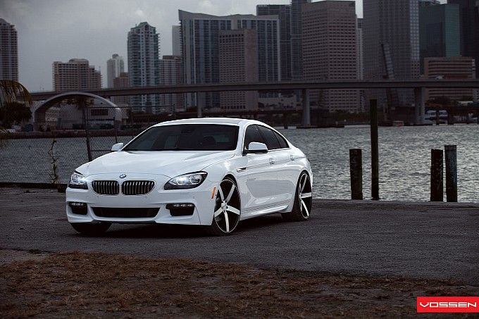 bmw 6 series gran coupe on 22 inch vossen wheels photo 9 114. Black Bedroom Furniture Sets. Home Design Ideas