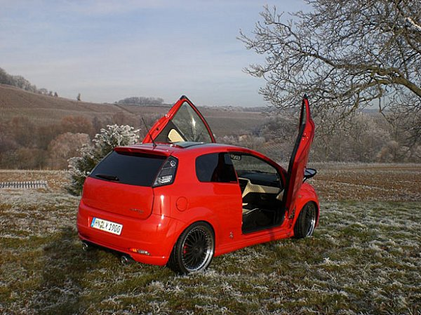 Fiat Grande Punto Sport Mjet 2006 02 178