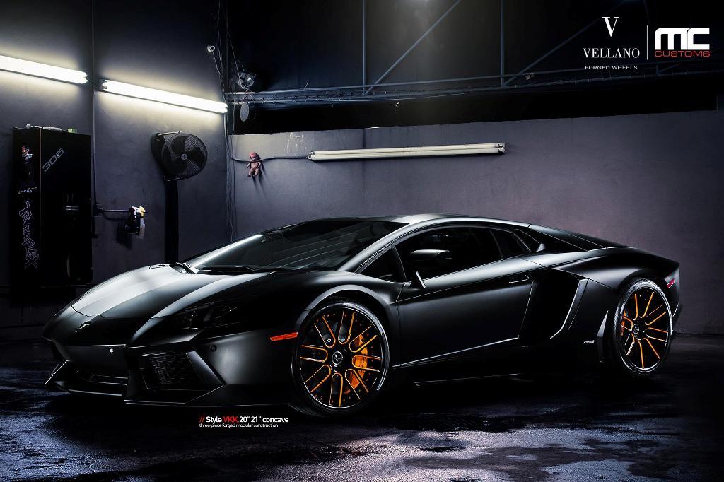 Lamborghini Aventador Rides On Vellano Wheels Photo
