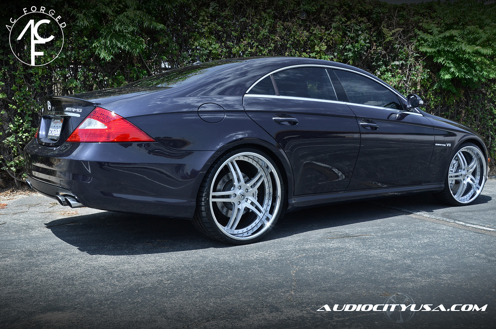 mercedes cls amg gets 22 inch ac forged wheels 6 497